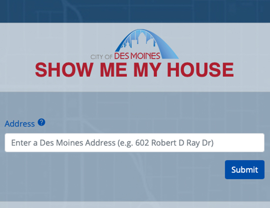 Show Me My House
